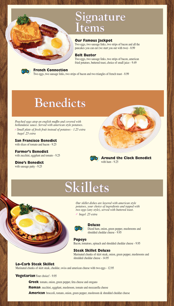Breakfast menu 3
