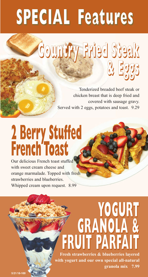 Breakfast menu 6