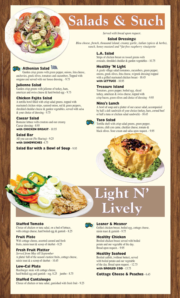 Lunch menu 3