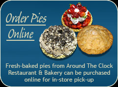 Promotion - order pies online